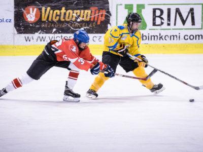Hokejové utkání žen Rce - Pardubice