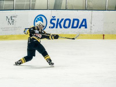 Hokejové utkání žen v Roudnici nad Labem